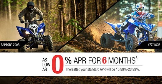 Yamaha ATV Promotion