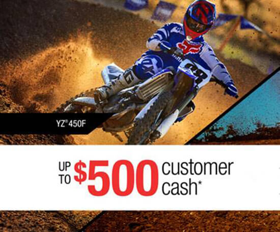 Yamaha Dirt Bike Promotion