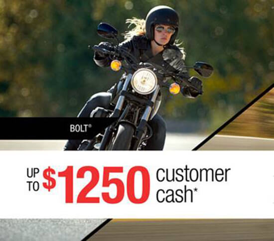 Yamaha Road Motorcycle Promotion
